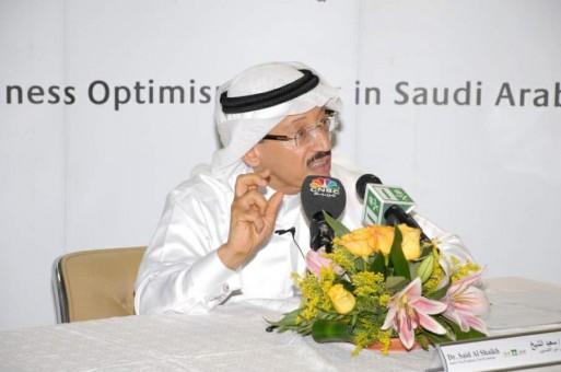الدكتور سعيد الشيخ كبير الاقتصاديين بالبنك الأهلي