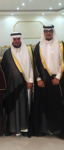 الدكتور عبدالله ال درع بحتفل بزواج نجله خالد 1