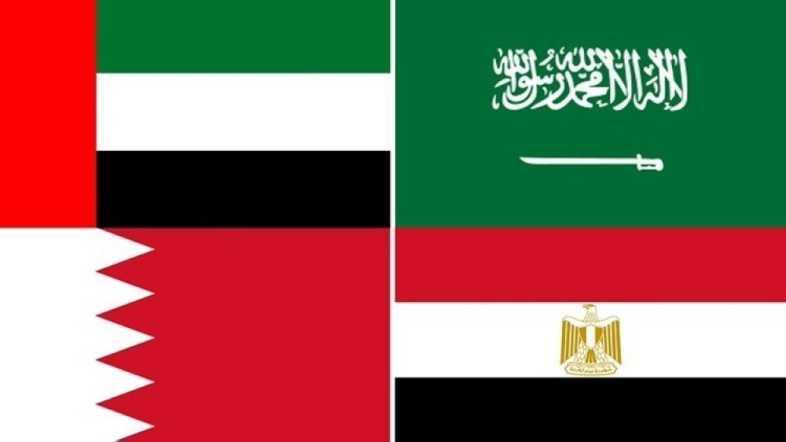 المملكة والإمارات والبحرين ومصر تقرر رفع ملف قضية المجال الجوي السيادي لها مع قطر إلى محكمة العدل الدولية