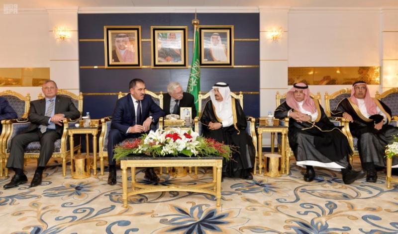 الرئيس الأنغوشي يصل إلى الرياض