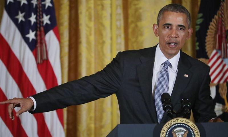 الرئيس الامريكي اوبااما