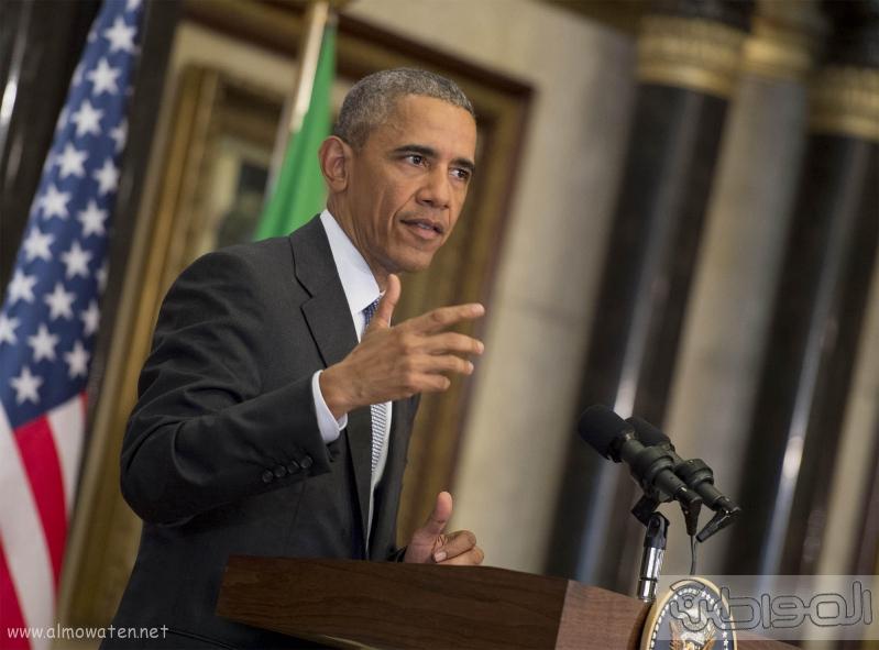 الرئيس الامريكي في القمه الخليجيه الامريكيه (1)