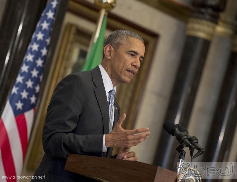 الرئيس الامريكي في القمه الخليجيه الامريكيه (2)