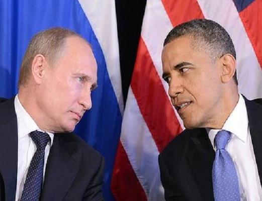 الرئيس الامريكي والرئيس الروسي
