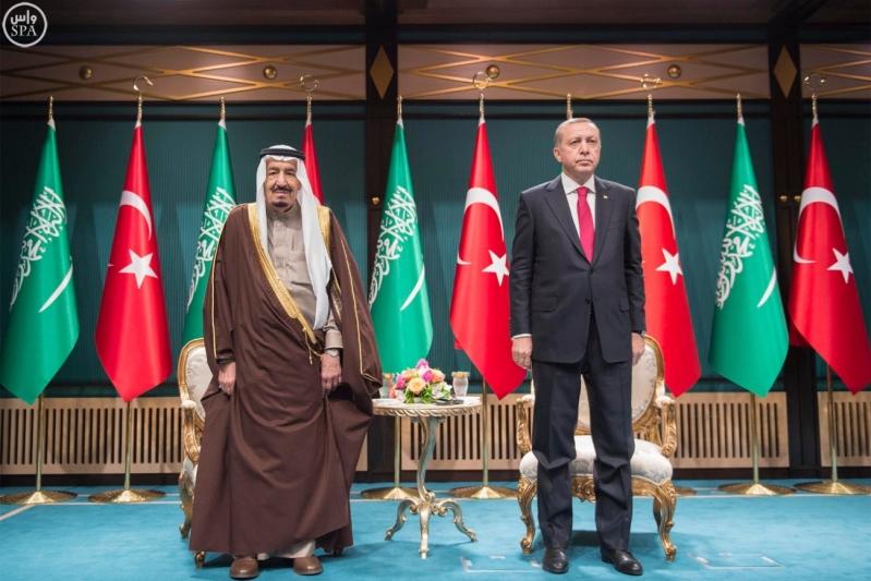 الرئيس التركي يستقبل الملك 17