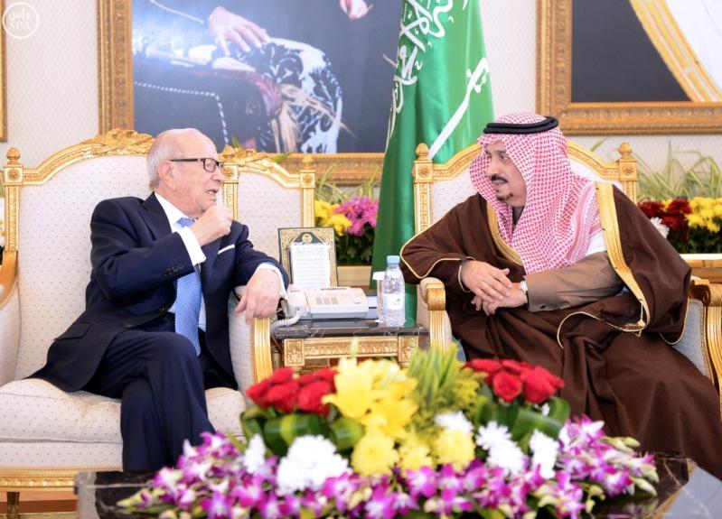 الرئيس التونسي يصل إلى الرياض