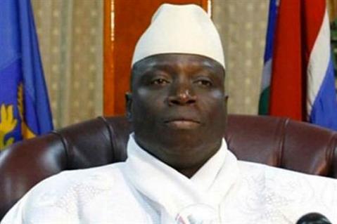 الرئيس الجامبي يحيى جامع
