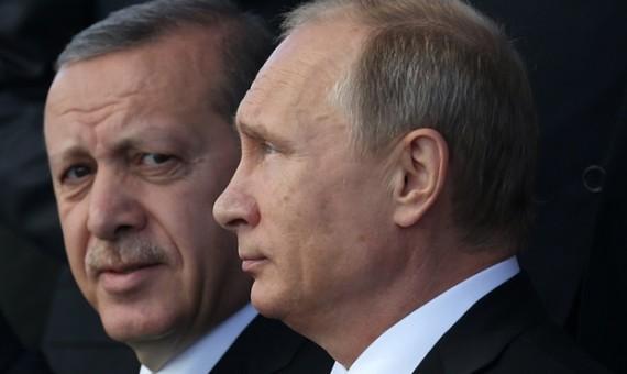 الرئيس الروسي والرئيس التركي