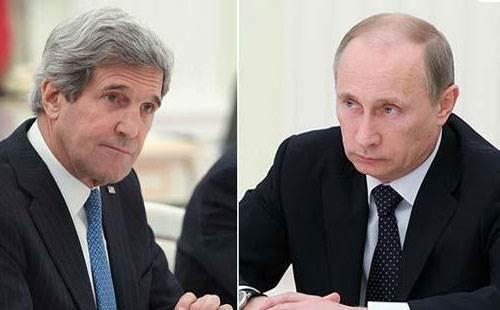 الرئيس الروسي ووزير الخارجية الامريكي