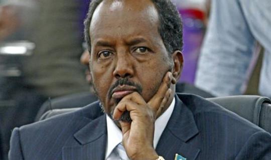 الرئيس الصومالي حسن الشيخ محمود