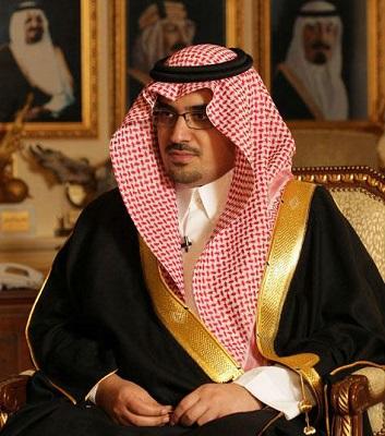 الرئيس العام لرعاية الشباب الأمير نواف بن فيصل بن فهد