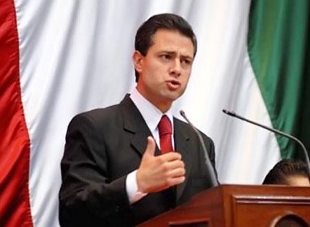 الرئيس المكسيكي إنريكي بينا نييتو