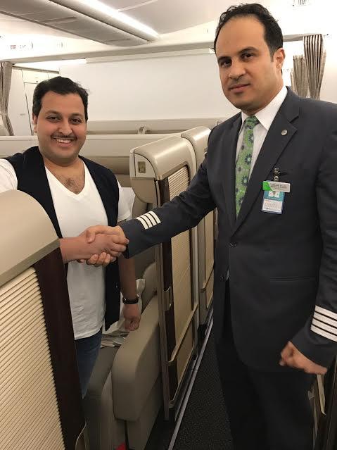 الرحلة الأولى لطائرة الأجنحة الجديدة للدرجة الأولى من الرياض إلى باريس 1