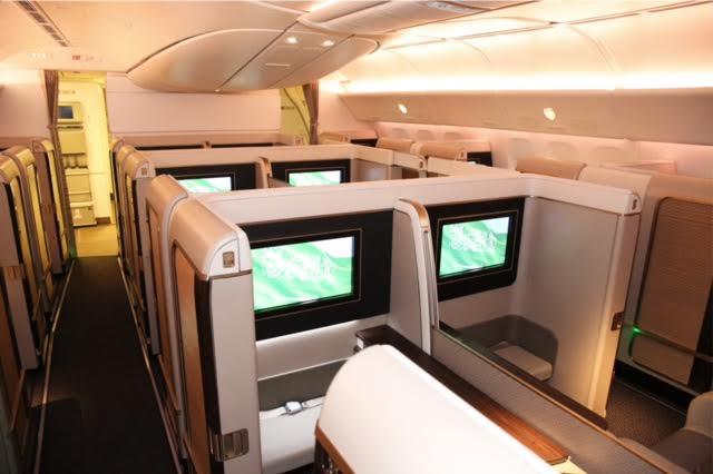 الرحلة الأولى لطائرة الأجنحة الجديدة للدرجة الأولى من الرياض إلى باريس 4