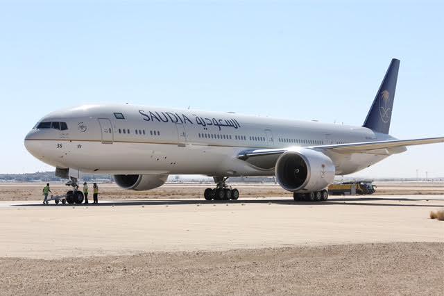 الرحلة الأولى لطائرة الأجنحة الجديدة للدرجة الأولى من الرياض إلى باريس 5