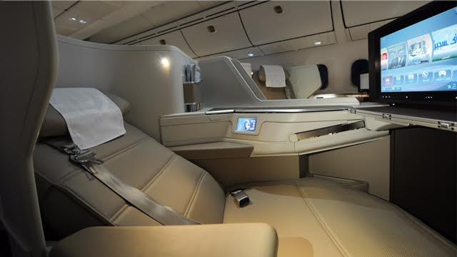الرحلة الأولى لطائرة الأجنحة الجديدة للدرجة الأولى من الرياض إلى باريس