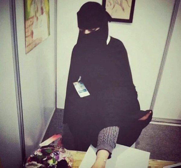 الرسامة السعودية، هيلة المحسن (1)