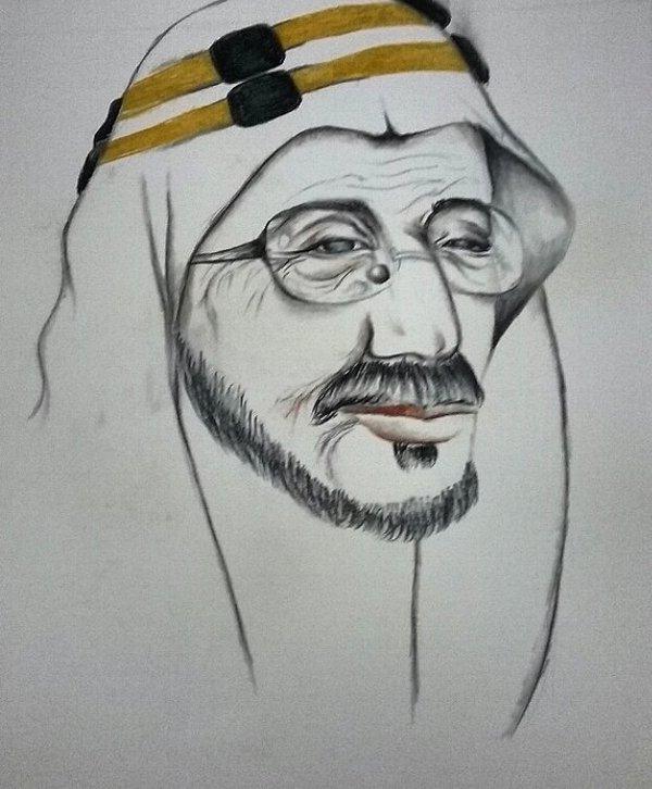الرسامة السعودية هيلة المحسن (2)