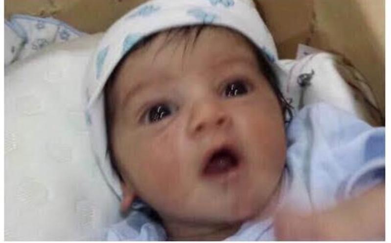 الرضيع مقذوفات عسكرية حوثية نجران