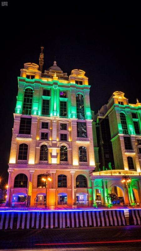الرياض تشارك الإمارات الاحتفاء بيومها الوطني الـ٤٥