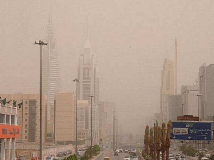 الرياض-غبار