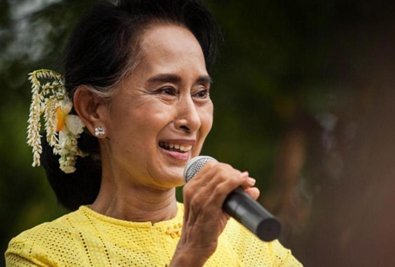 الزعيمة البورمية أونغ سان سو تشي