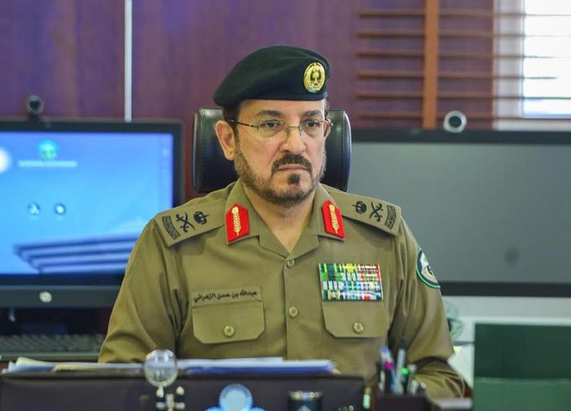 مدير الإدارة العامة للمرور اللواء عبدالله بن حسن الزهراني