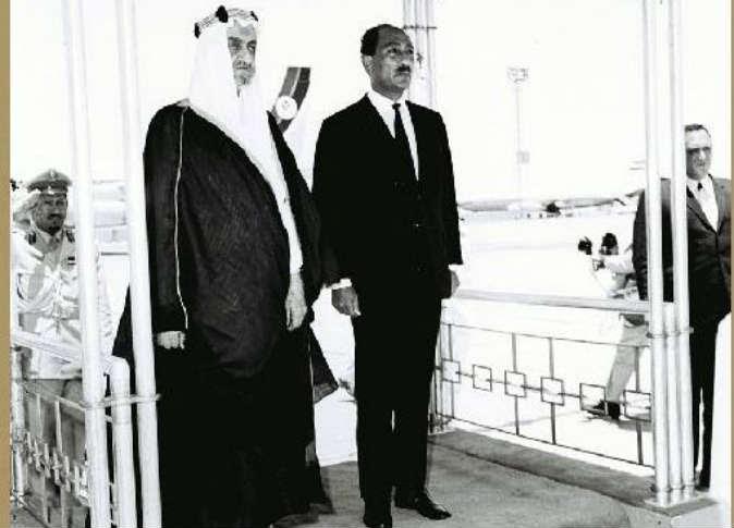 الساداتي والملك فيصل 1