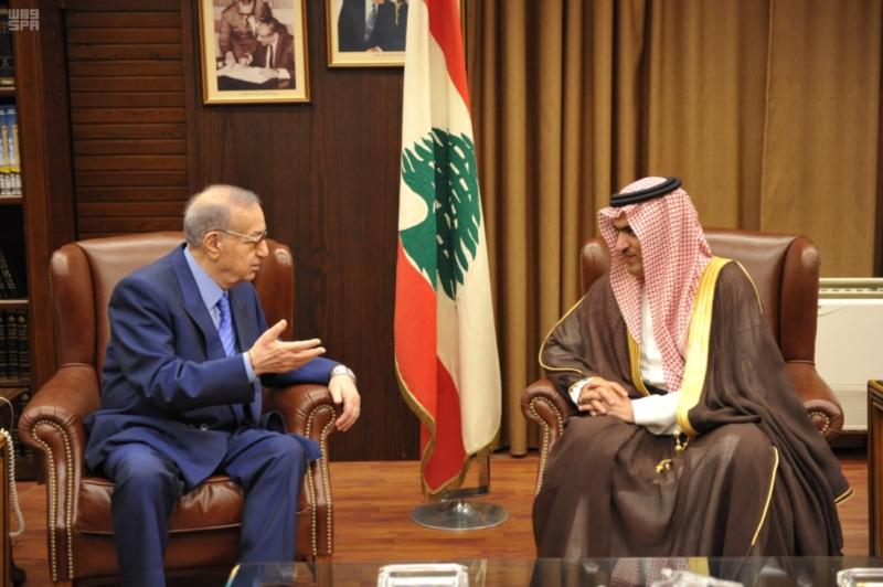 السبهان يلتقي قيادات لبنان (11)