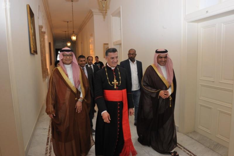 السبهان يلتقي قيادات لبنان (2)