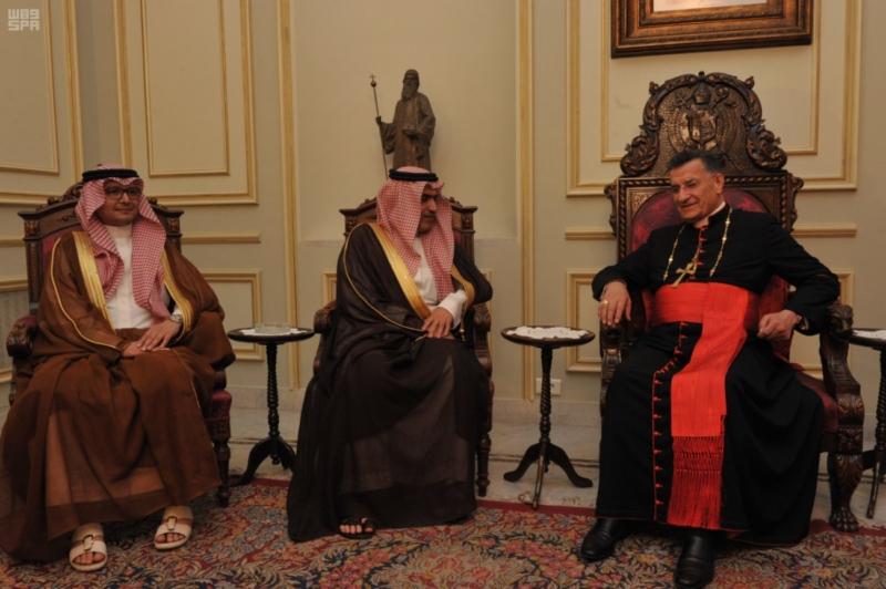 السبهان يلتقي قيادات لبنان (6)