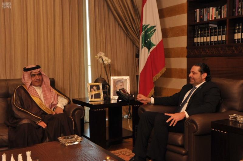 السبهان يلتقي قيادات لبنان (9)
