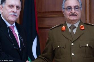 بيان حفتر والسراج: الحل في ليبيا سياسي.. وماكرون يدعو لإطار دستوري تمهيدًا للانتخابات - المواطن