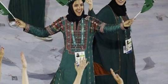 السعوديات في الالومبياد 3