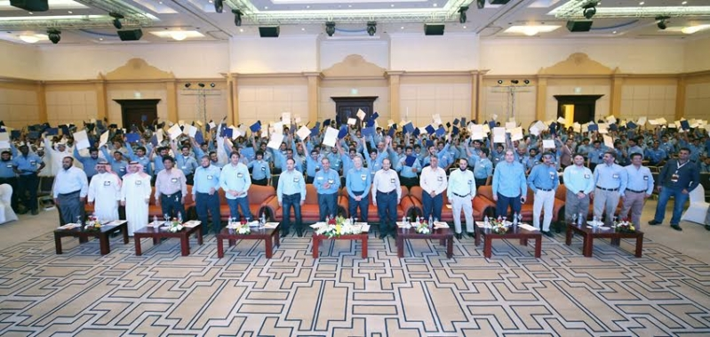 السعودية للكهرباء تحتفل بأكبر دفعة خريجين من معهدها في الرياض