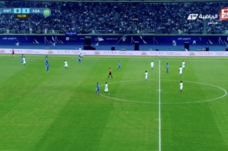 بالفيديو.. المؤشر يهز شباك المنتخب الكويتي في كأس الخليج - المواطن