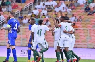 بالفيديو.. المنتخب السعودي يستعد للمونديال بثلاثية في مولدوفا - المواطن