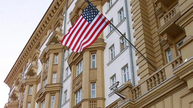 السفارة الامريكية في موسكو