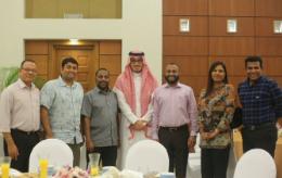 السفارة السعودية بالمالديف تُقيم إفطاراً لكبار المسؤولين (1)