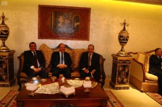 السفير السعودي في تونس يحتفي بالفريق المحرج - المواطن