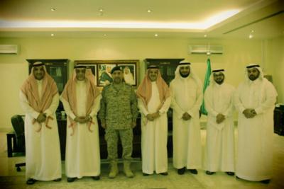 السفير العيفان يقلِّد سعادة الملحق العسكري السعودي في الدوحة رتبته الجديدة 1