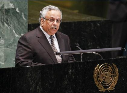 السفير عبدالله المعلمي المندوب الدائم للمملكة لدى الأمم المتحدة