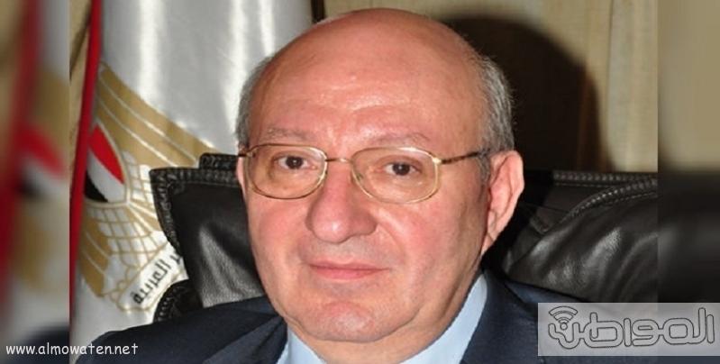 السفير ناصر حمدى سفير مصر بالرياض