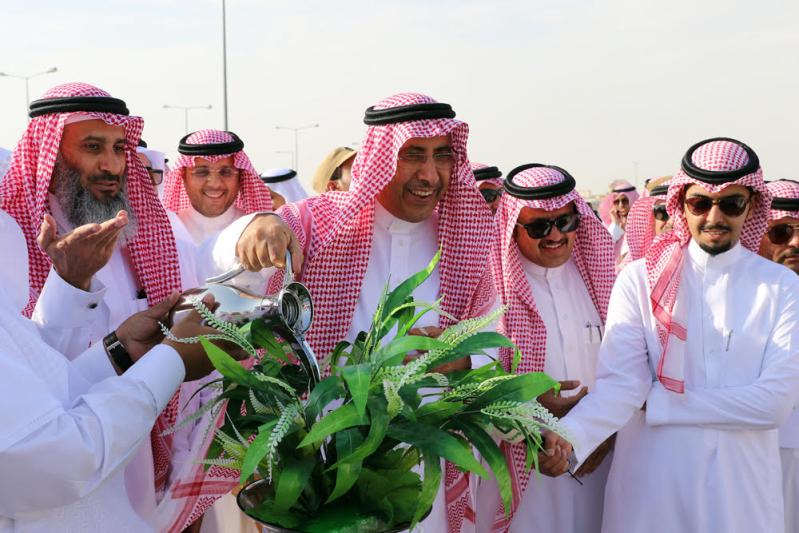 السلطان يدشن مهرجان ربيع #الرياض3