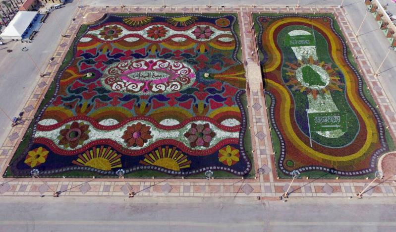 السلطان يدشن مهرجان ربيع #الرياض4
