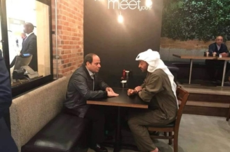 شاهد.. السيسي ومحمد بن زايد يتناولان الطعام بمطعم في أبو ظبي - المواطن