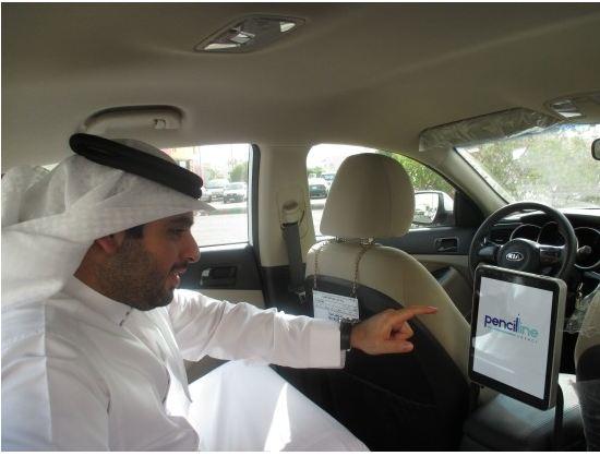 """كشف الستار عن الشاشات الرقمية داخل """"سيارات الأجرة"""" - المواطن"""