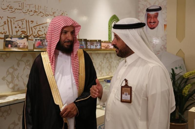 الشتري يزور مقر سكن برنامج الملك للحجاج الفلسطينين 3