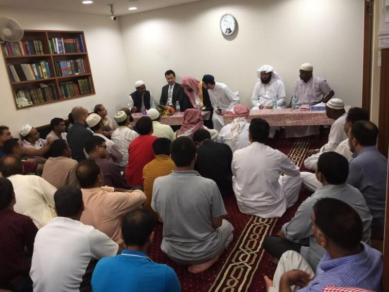 الشثري يلتقي بمسؤولي الجمعيات الإسلامية في اليابان