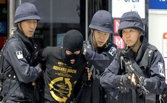 الشرطة-الكورية-الجنوبية